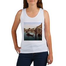 Vintage Rialto Bridge Women's Tank Top