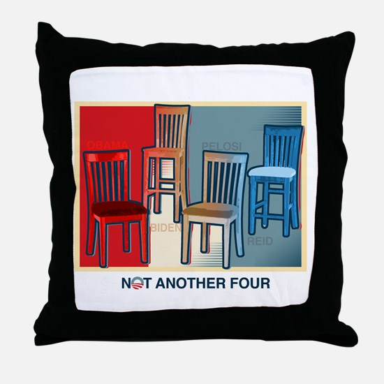 Not Another Four Throw Pillow