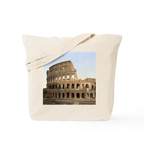Vintage Colosseum Tote Bag