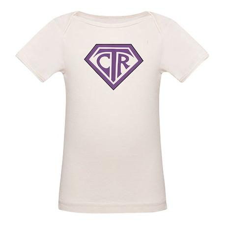 Royal CTR emblem Organic Baby T-Shirt