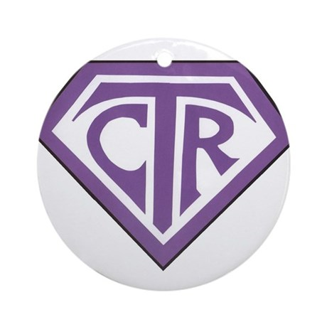 Royal CTR emblem Ornament (Round)