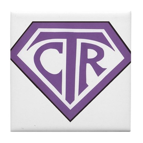 Royal CTR emblem Tile Coaster