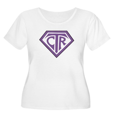 Royal CTR emblem Women's Plus Size Scoop Neck T-Sh