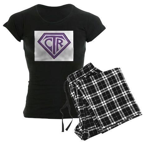 Royal CTR emblem Women's Dark Pajamas