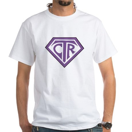 Royal CTR emblem White T-Shirt