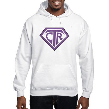 Royal CTR emblem Hooded Sweatshirt