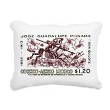 1963 Mexico Don Quijote Skeletons Postage Stamp Re