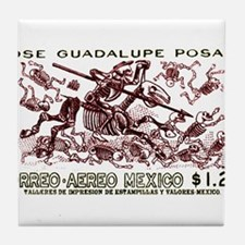 1963 Mexico Don Quijote Skeletons Postage Stamp Ti