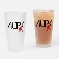 AUPK Logo Drinking Glass