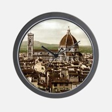 Vintage Florence Cathedral Wall Clock
