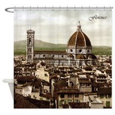 Vintage Florence Cathedral Shower Curtain