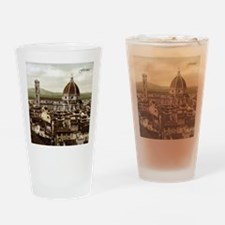 Vintage Florence Cathedral Drinking Glass