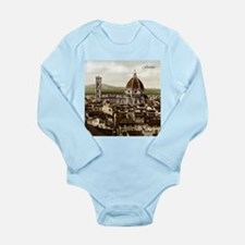 Vintage Florence Cathedral Long Sleeve Infant Body