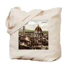 Vintage Florence Cathedral Tote Bag