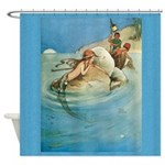 Mermaid Art Shower Curtain