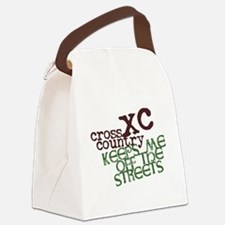 XC Keeps off Streets © Canvas Lunch Bag