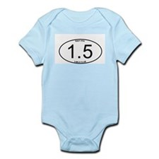 Navy PFA 1.5 Mile 3-Mile Club Member Infant Bodysu