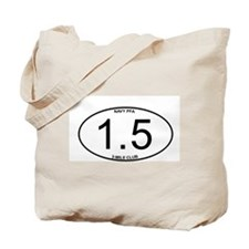 Navy PFA 1.5 Mile 3-Mile Club Member Tote Bag
