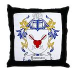 Yeoman Coat of Arms Throw Pillow