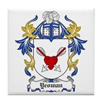 Yeoman Coat of Arms Tile Coaster