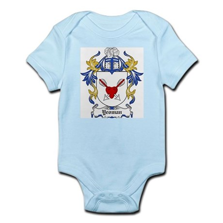 Yeoman Coat of Arms Infant Creeper