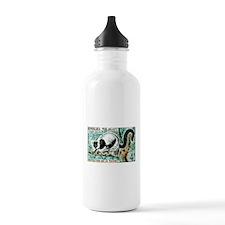1961 Madagascar Ruffled Lemur Stamp Water Bottle