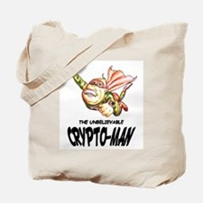 Flying Crypto-Man Tote Bag