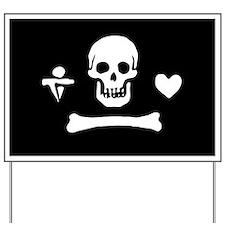 Stede Bonnet Flag Yard Sign