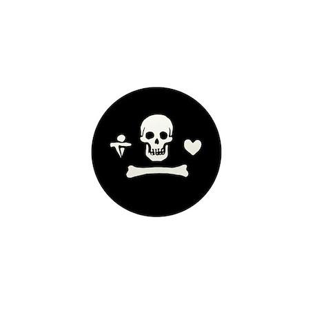 Stede Bonnet Flag Mini Button (100 pack)