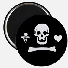 Stede Bonnet Flag Magnet