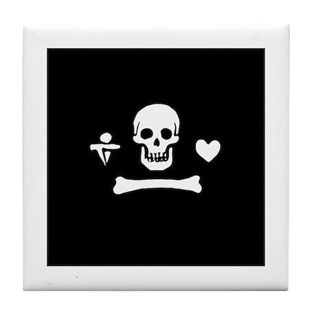 Stede Bonnet Flag Tile Coaster