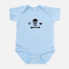 Stede Bonnet Flag Infant Bodysuit