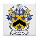 Yawkins Coat of Arms Tile Coaster