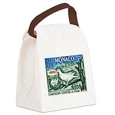 1963 Monaco Campaign Against Hunger Stamp Canvas L