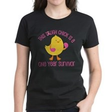 Breast Cancer 1 Year Survivor Chick Tee