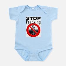 Stop Fracking Infant Bodysuit