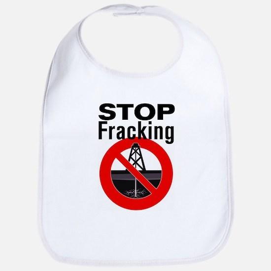 Stop Fracking Bib