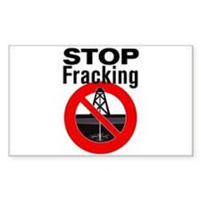 Stop Fracking Bumper Stickers