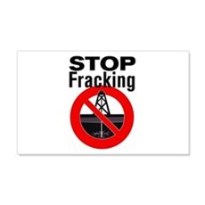 Stop Fracking Wall Decal