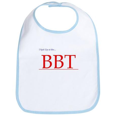 Bib'n it up at the BBT, baby!