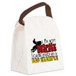 Not Totally Useless - Snowmobilin Canvas Lunch Bag