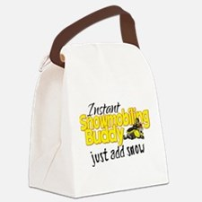 Instant Snowmobiling Buddy Canvas Lunch Bag