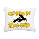 deepclock.png Rectangular Canvas Pillow