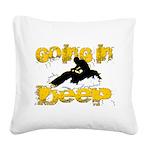 deepclock.png Square Canvas Pillow
