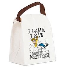 I came, I saw Canvas Lunch Bag