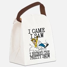 I came, I saw Canvas Lunch Bag