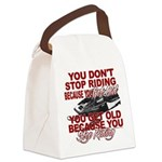 You Don't Get Old Canvas Lunch Bag