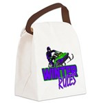 Winter Rules Canvas Lunch Bag