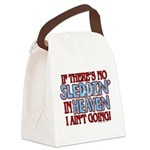 Sleddin' in Heaven Canvas Lunch Bag