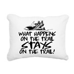 What Happens on the Trai Rectangular Canvas Pillow
